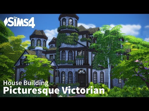 Picturesque Victorian | The Sims 4 House Building