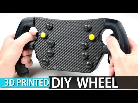 HOW TO MAKE A 3D PRINTED F1 GT WHEEL
