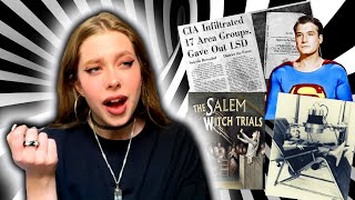 Conspiracies that F*ck me up: Government Brainwashing, Salem Witch Trials and more