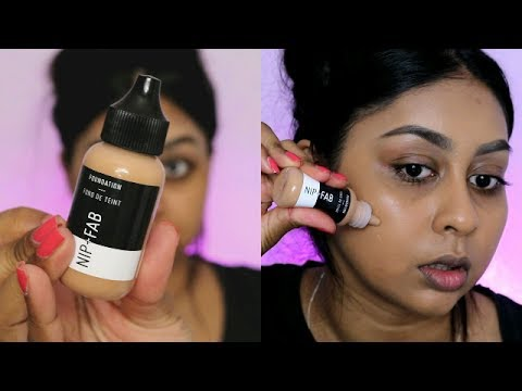 NIP & FAB FOUNDATION & CONCEALER | FIRST IMPRESSION & REVIEW