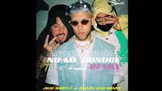 Jhay Cortez Ft. Bad Bunny & J Balvin - No Me Conoce Remix (Official Audio)