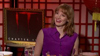 """Jessica Chastain reveals """"It Chapter 2"""""""