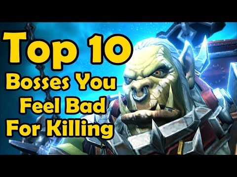 Top 10 Raid Bosses You Feel Bad About Killing (World of Warcraft)