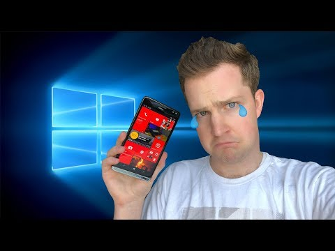 I Used a Windows Phone for a Week in 2018! I Will Miss It.
