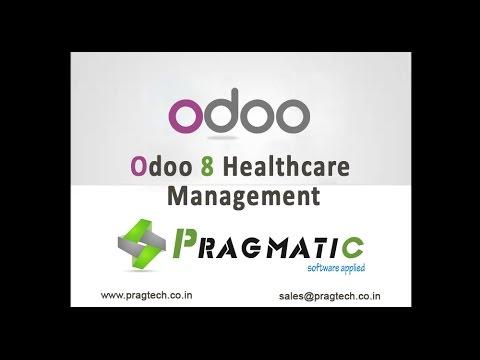 Odoo OpenERP 8 Healthcare Management