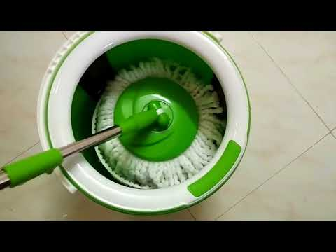 Mop   Scotch Brite Spin Mop   Scotch Brite Jumper Spin Mop with Round and Flat Heads with Refill