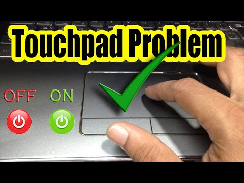 Touchpad Not Working? Fix TouchPad Problem On Laptop. 'Turn ON' Touchpad