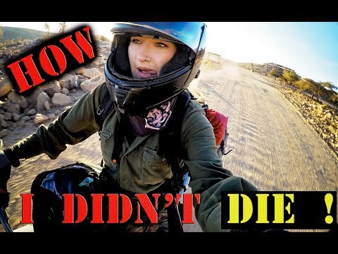 The secret to how I survived Oman's toughest offroad on an oversized KLR- Episode 5