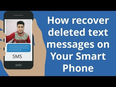 Restore deleted Messages in Android Phone 2018 | Recover OLD deleted SMS on Android