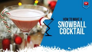 How to make a Christmas Snowball  For full Cocktail Recipe details visit: http://www.drinklab.org/snowball-cocktail/  Ingredients to make a Christmas Snowball Cocktail  2 oz Irish Cream 1/4 oz Raspberry Liqueur 1 Splash Grenadine  Directions: Shake in a cocktail shaker and strain into your martini Glass. We present to you the Snowball Cocktail Cocktail. Served in a Martini Glass   More Christmas Cocktail Videos:  https://www.youtube.com/playlist?list=PLeRj-MibL3GmADAto8BX6JDI_zA98fPjA  More Christmas Cocktail Recipes: http://www.drinklab.org/christmas-cocktails/   Become a Drink Buddy: http://www.drinklab.org/drinkbuddy.php For more cocktails visit - http://www.drinklab.org Twitter: http://www.twitter.com/drinklab Facebook: http://www.facebook.com/drinklab Instagram: http://www.instagram.com/drinklabcocktails Pinterest: http://www.pinterest.com/drinklab Google Plus: http://plus.google.com/112352858450528206721 Youtube: http://www.youtube.com/cocktailrecipes  Follow Scotty Boxa on: YouTube: http://www.youtube.com/ScottyBoxaTV Facey: http://www.facebook.com/ScottyBoxa Twitter: http://www.twitter.com/ScottyBoxa Instagram: http://www.instagram.com/ScottyBoxa or his website http://www.scottyboxa.com  #Cocktails #CocktailRecipes #CocktailRecipe #Drinks #DrinkLab #Alcohol #Mixology #bartender #Alcohol #Mixologist #Christmas #ChristmasDrinks #IrishCream #Snowball #ChristmasSnowball