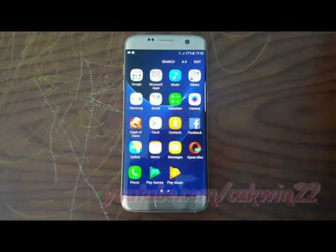 Samsung Galaxy S7 Edge : How to Change Voicemail Alert sound (Android Marshmallow)