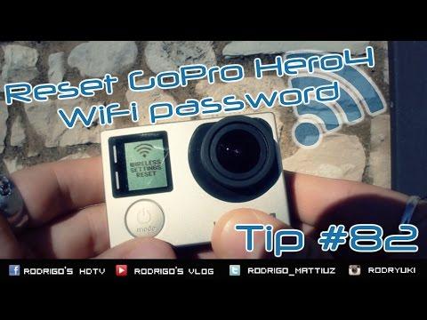 Gopro Hd Tip 82 How To Reset Hero4 Wifi Password In 10 Seconds