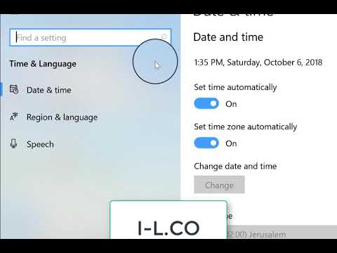 how to change windows 10 country to Bahrain