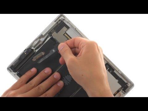 Charging Dock Repair - iPad 2 Wifi How to Tutorial