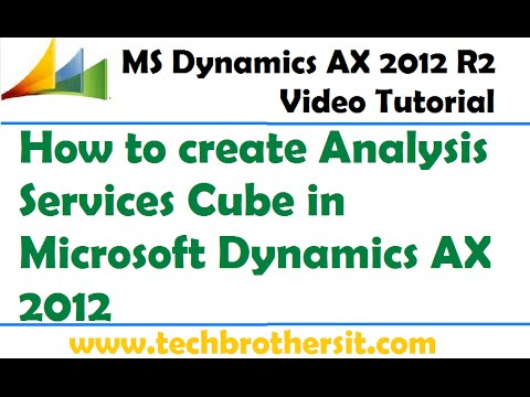 43-How to create Analysis Services Cube in Microsoft Dynamics AX 2012