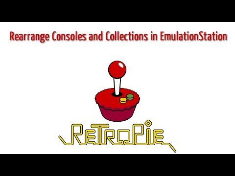 Rearrange  Collections in EmulationStation for Retropie