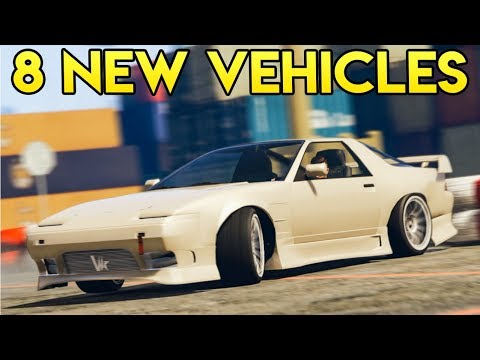 Rockstar Adding 8 NEW Vehicles for Purchase Soon in GTA Online, But Why?