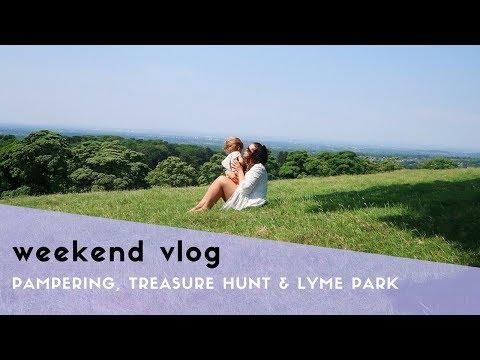WEEKEND VLOG - PAMPERING, A TREASURE HUNT & LYME PARK