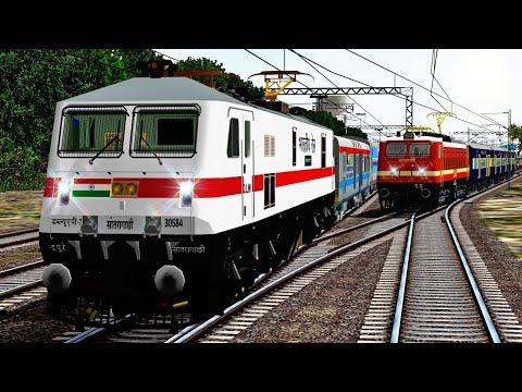 Xxx Mp4 Heavy Trains Traffic Towards Howrah Jn MSTS South Eastern Railway RailIndia Route 3gp Sex