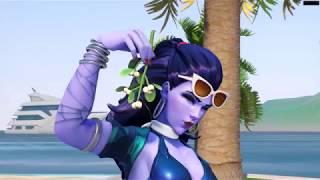 Côte D'azur Widowmaker Skin 「 Overwatch Summer Games 2017 Costume│Overwatch 」