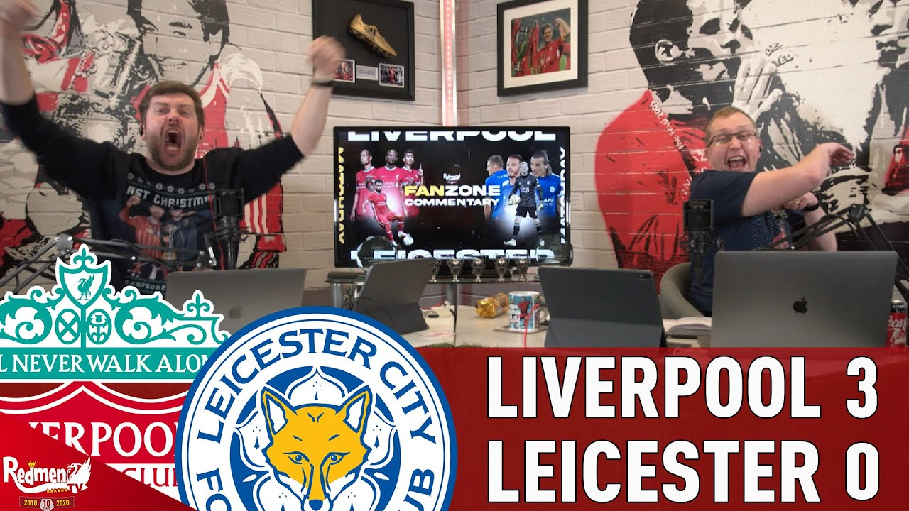 Jota & Firmino Head Past Leicester! | Liverpool 3-0 Leicester | LFC Goal Reactions