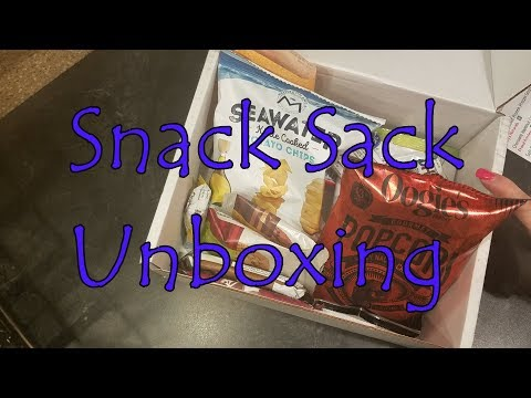 Unboxing- Snack Sack 2