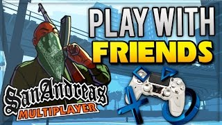 How To Play GTA San Andreas Online PS4 - (GTA San Andreas Multiplayer)