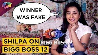 Shilpa Shinde UNHAPPY With Bigg Boss 12 | Calls Jodi's Fake | Exclusive