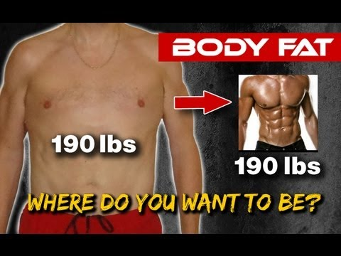 HOME Body Fat Testing - What's YOUR Bodyfat Percentage?