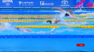 Matthew Torres Wins Gold In S8/S9 400m Freestyle | Parapan American Games Lima 2019
