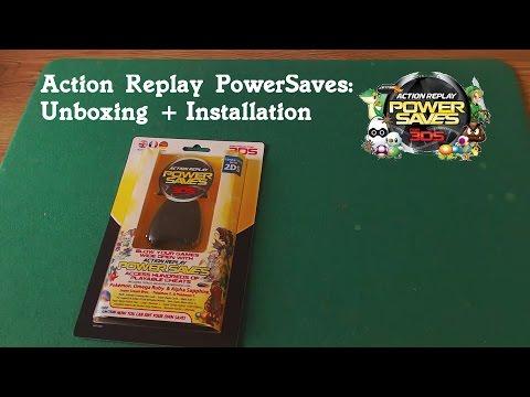 Action Replay PowerSaves  für 3DS: Unboxing + Installation