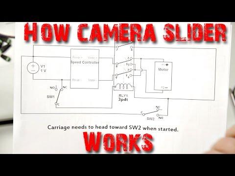 Explanation of Camera Slider Wiring Diagram