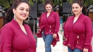 Nithya Menen B0LD H0T Looks In Western Dress || Nithya Menon Latest Photoshoot || Movie Blends