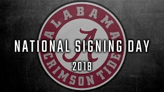 Where Alabama finished on National Signing Day