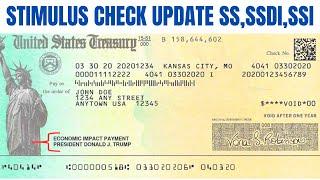 Stimulus Check Update| SS, SSI, SSDI Payment Date!