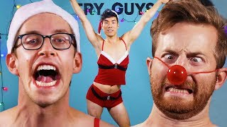 The Try Guys Try Naughty Christmas Costumes