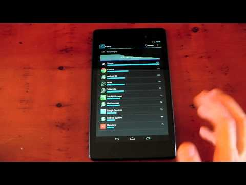 Nexus 7 (2013) - Battery Life - Thoughts / Observations
