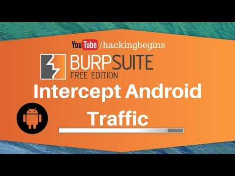 Intercept Android Traffic | Burp Suite | Configure mobile devices to work with Burp Suite