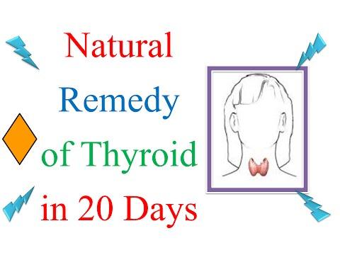 Hyperthyroidism hypothyroidism Thyroid gland and Natural Cure treatment