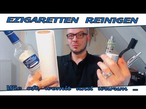 eZigaretten reinigen - Wie, womit, wie oft und warum? - (HD|deutsch)