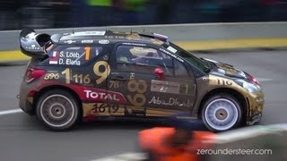 WRC Rallye de France 2013 | mistakes and max attack [HD]