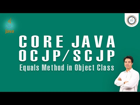 Equals Method Comparing Objects in Java || Objects Comparison Using Equals in Java by som sir