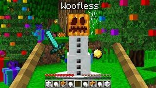 PLAYING MINECRAFT AS A SNOWMAN! - Minecraft Mods