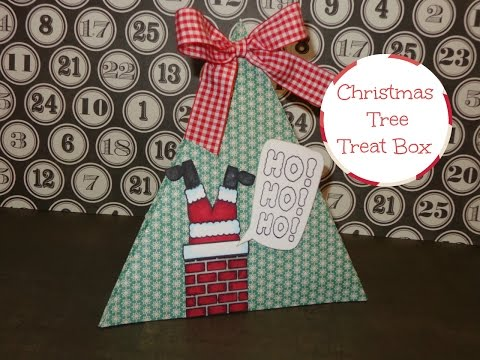 3D Christmas Tree Gift Package Tutorial