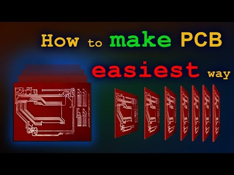 How to Make PCB at Home - Easiest Way