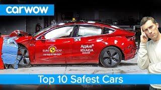 Download Tesla Model 3 crashed and the top 10 safest cars revealed! Video