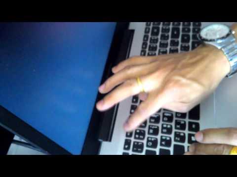 รีวิว การกดปุ่มเข้า  bios notebook lenovo ideapad 500s