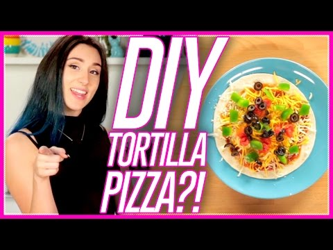 Microwave Tortilla Pizza?! | Microwave Meals with Mackenzie Marie