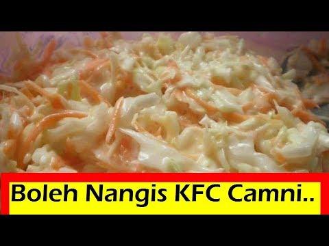 KFC Coleslaw Resepi   KFC Secret Recipe   Resepi KFC Terbongkar