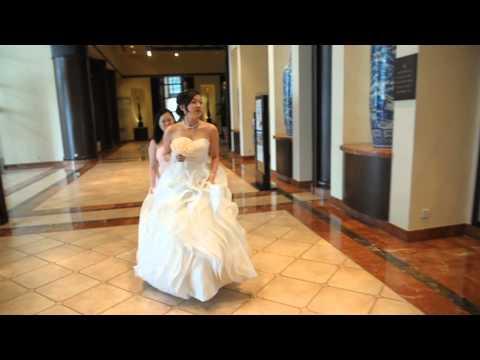 The Bride, Ivy Ho walking in, me as PA